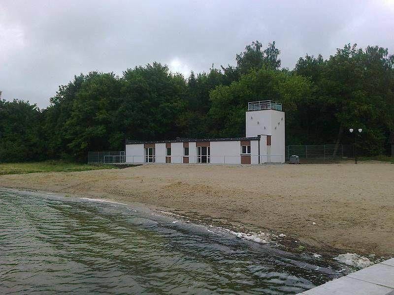 Budynek na plaży